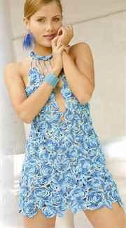 платье крючком схемы и модели бесплатно