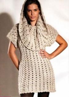 Летние платья крючком со схемами и описанием фото 590