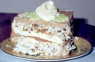 """Kievskiy tort: retsept """"Kievskogo torta"""" s foto"""