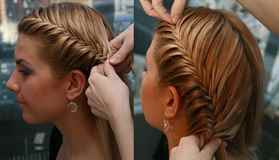 Прически из косы на длинные волосы своими