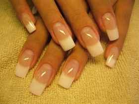 Нарощенные ногти на 1 и 2