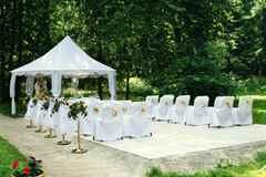 Свадьба очень элегантна романтична и