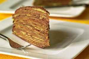 Торты из блинов со сгущенкой рецепт