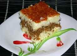 рецепт запеканки из вермишели с фаршем в духовке рецепт