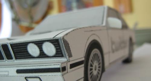 """Мастер класс как сделать машину из бумаги своими руками  """"оригами """" ."""