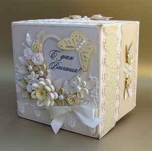 Как сделать коробки на свадьбу