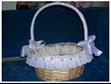 Оригинальное украшение свадебной корзины для свадьбы своими руками