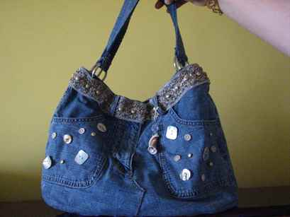 Как быстро сшить сумку из старых джинсов фото 518