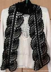 В таком шарфе любая женщина