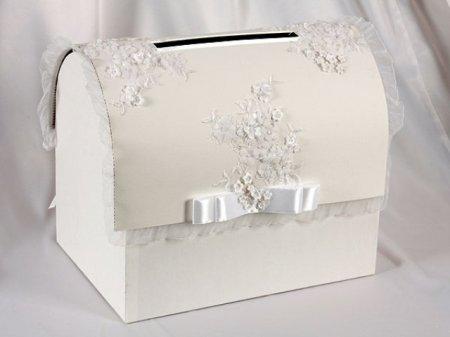 Свадебная коробка для денег своими руками