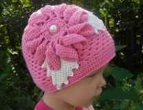 шляпку для девочки крючком