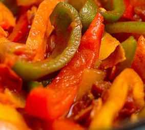 Рецепт Лечо из перца и помидор на зиму