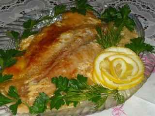 морской язык рецепты в духовке с луком
