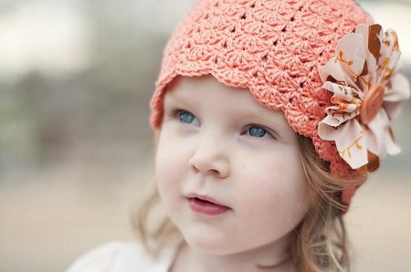 Как сделать шляпку для девочки крючком