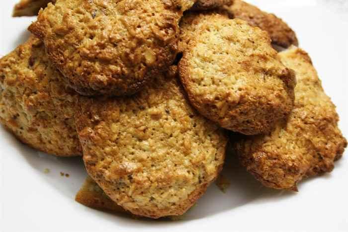печенье с овсяными хлопьями рецепты с фото