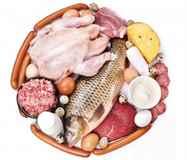 правильное дробное питание для очищения шлаков