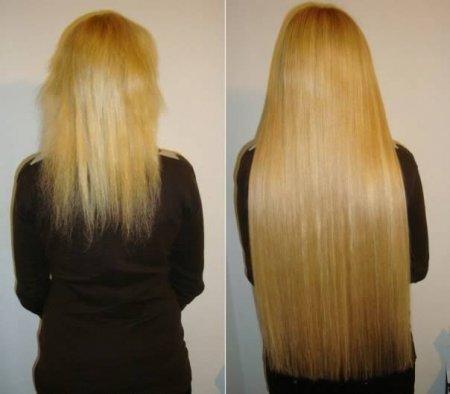 Ленточное наращивание волос сколько держится
