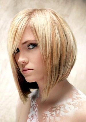 Мелирование на коротких волосах