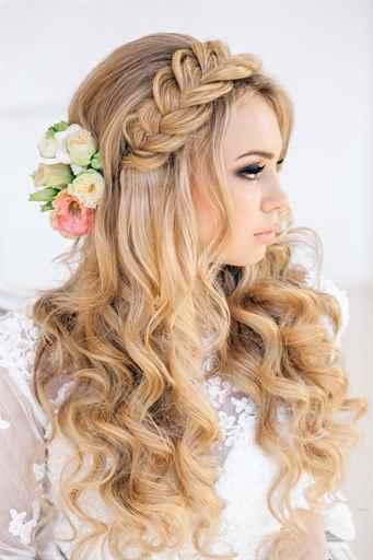 Свадебные прически на длинные волосы 2015