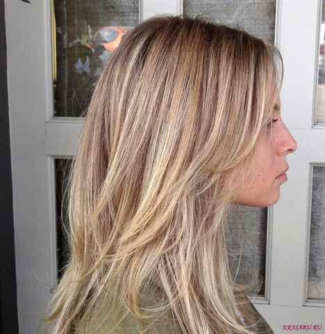 Если волосы мелированные как перейти в блондинку - 298