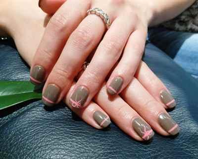 Красивый маникюр с шеллаком на короткие ногти фото дизайн