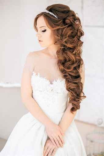 Свадебные прически без фаты на средние волосы