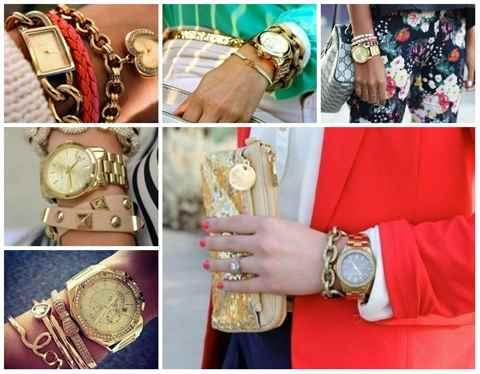 Большие браслеты с чем носить