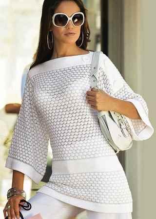 Вязание спицами для женщин на осень 2015