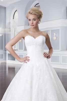 Свадебные платья пышные 2015: 110 фото