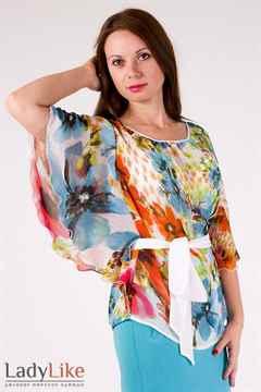 Блузы из шифона 2015