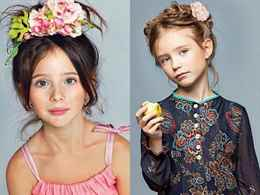 Модные детские прически для девочек