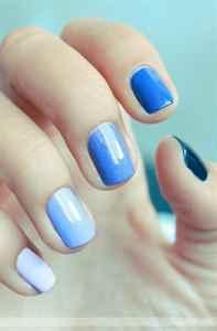 модные рисунки на ногтях осень 2014 фото