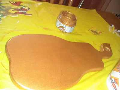 как покрыть доску несколькими слоями краски
