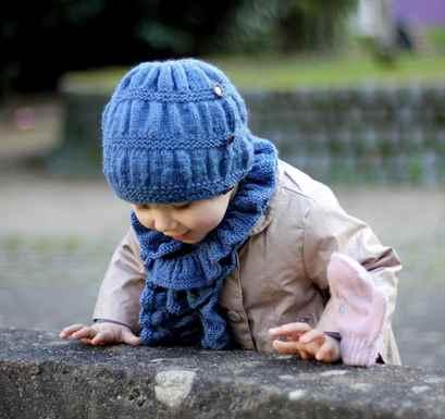 Вязать спицами для малышки