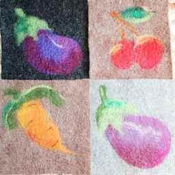 Овощи из шерсти