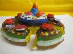 Торт поделка