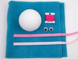 Игрушки из ткани и ваты