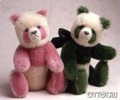Медведи разноцветные