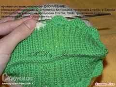 Вязание чепчика спицами для начинающих с пошаговым описанием видео