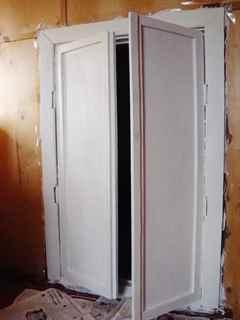 Декупаж двери