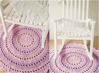 Розовые коврики