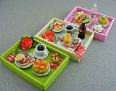Еда из полимерной глины для кукол: видео мастер-классы для начинающих