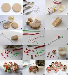 Еда для кукол из глины своими руками фото 754