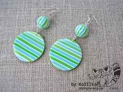 Зеленые сережки