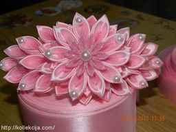 Розовый ободок