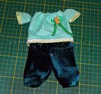 Как сшить штаны для зайца-тильды