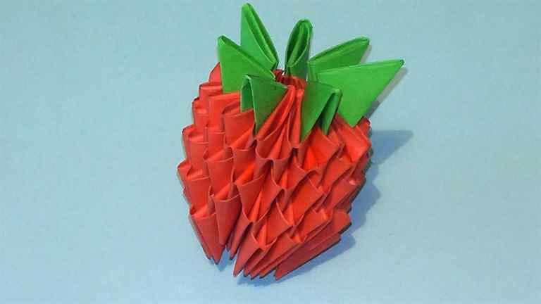 Поделки из бумаги из треугольников