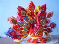 Знайте, что оригами павлин из