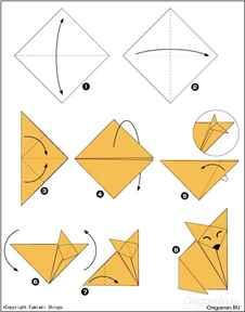 Модуль для оригами из бумаги видео