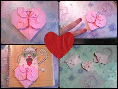 Оригами для личного дневника идеи рисунки фото и картинки